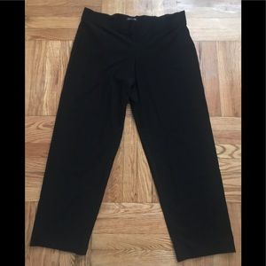 EILEEN FISHER SYSTEM SLIM FIT CROPPED PANTS,XL